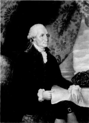 Portrait of Washington by Edward Savage